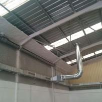Instal·lació sistema de ventilació en pàrquing a l'Arboç (Tarragona)