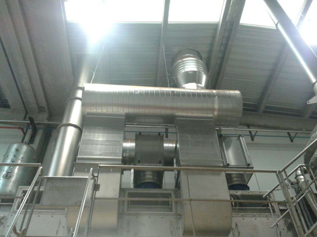Sistema ventilacio planta