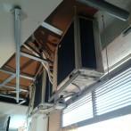 Instalación equipos aire acondicionado y ventilación en una farmacia de Vilaseca
