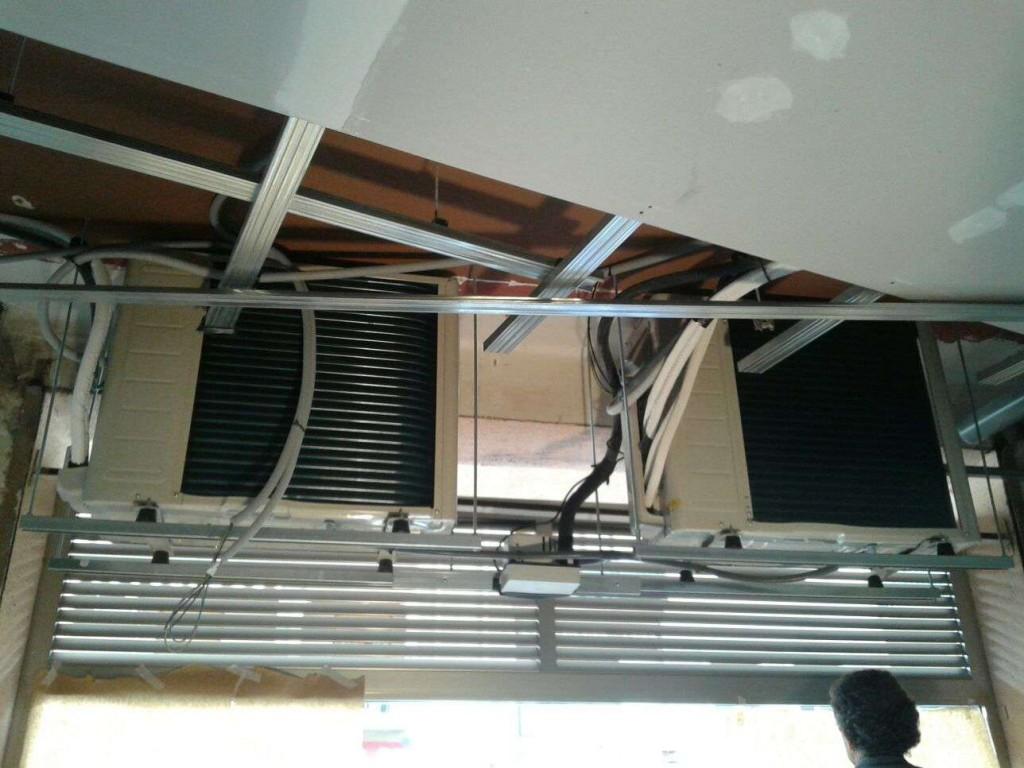 Aire acondicionado y ventilación farmacia