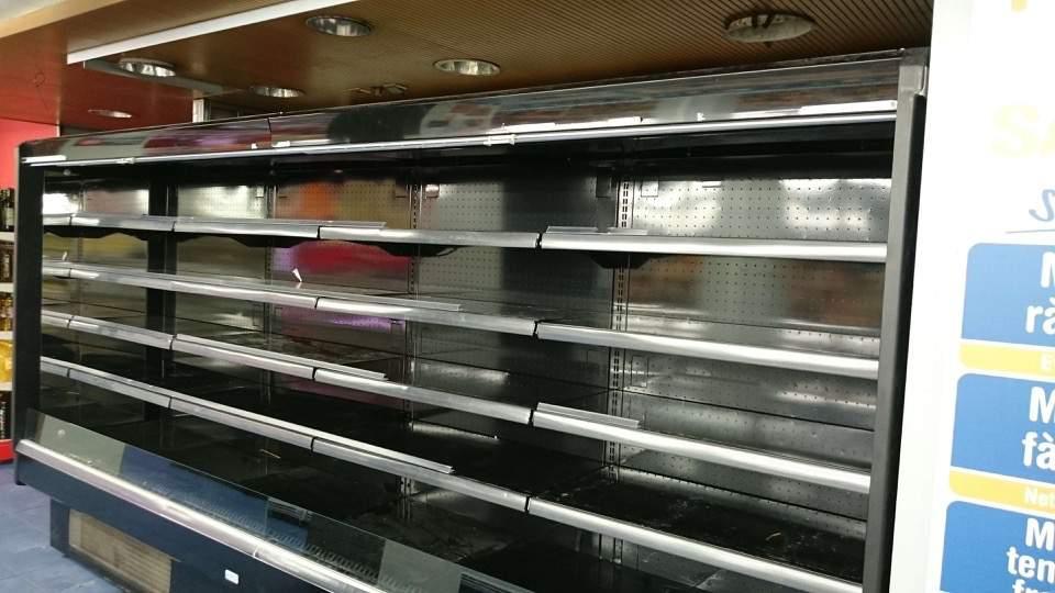 Renovacion frigoríficos supermercado