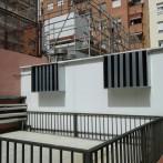 Instalación de pantalla acústica para equipos de climatización en Barcelona