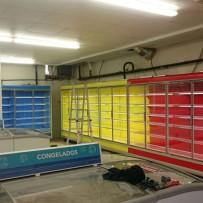 Instalaciones frigoríficas, climatización y ventilación en supermercado en Oropesa de Mar