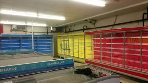 Instal·lacions frigorífiques supermercat Oropesa de Mar